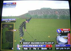 Golden Tee tips tricks hints shortcuts golf game 2007 2008 2009 live arcade courses bonnie moor