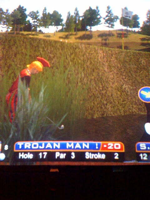 Golden Tee tips tricks hints shortcuts golf game 2007 2008 2009 live arcade pictures animals
